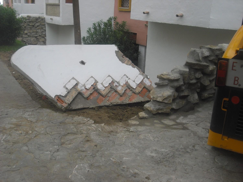 Trabajos de albañilería