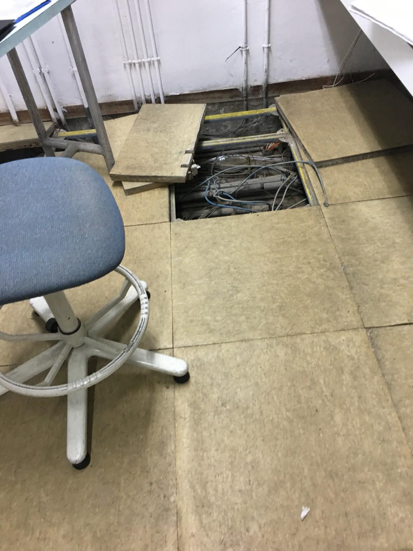 Techos desmontables y suelos técnicos